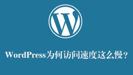 wordpress速度慢